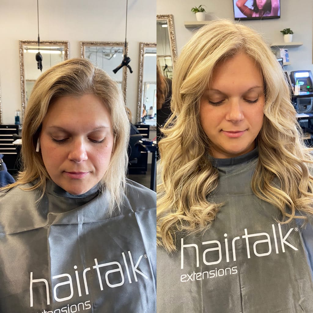 Tape In Hair Extensions by Hairtalk